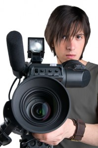 Student in Video Production